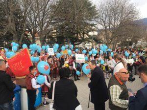 Одбележување на 2-ри Април во Охрид